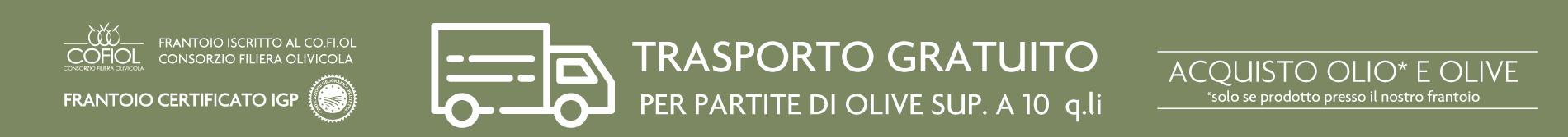 trasporto olive